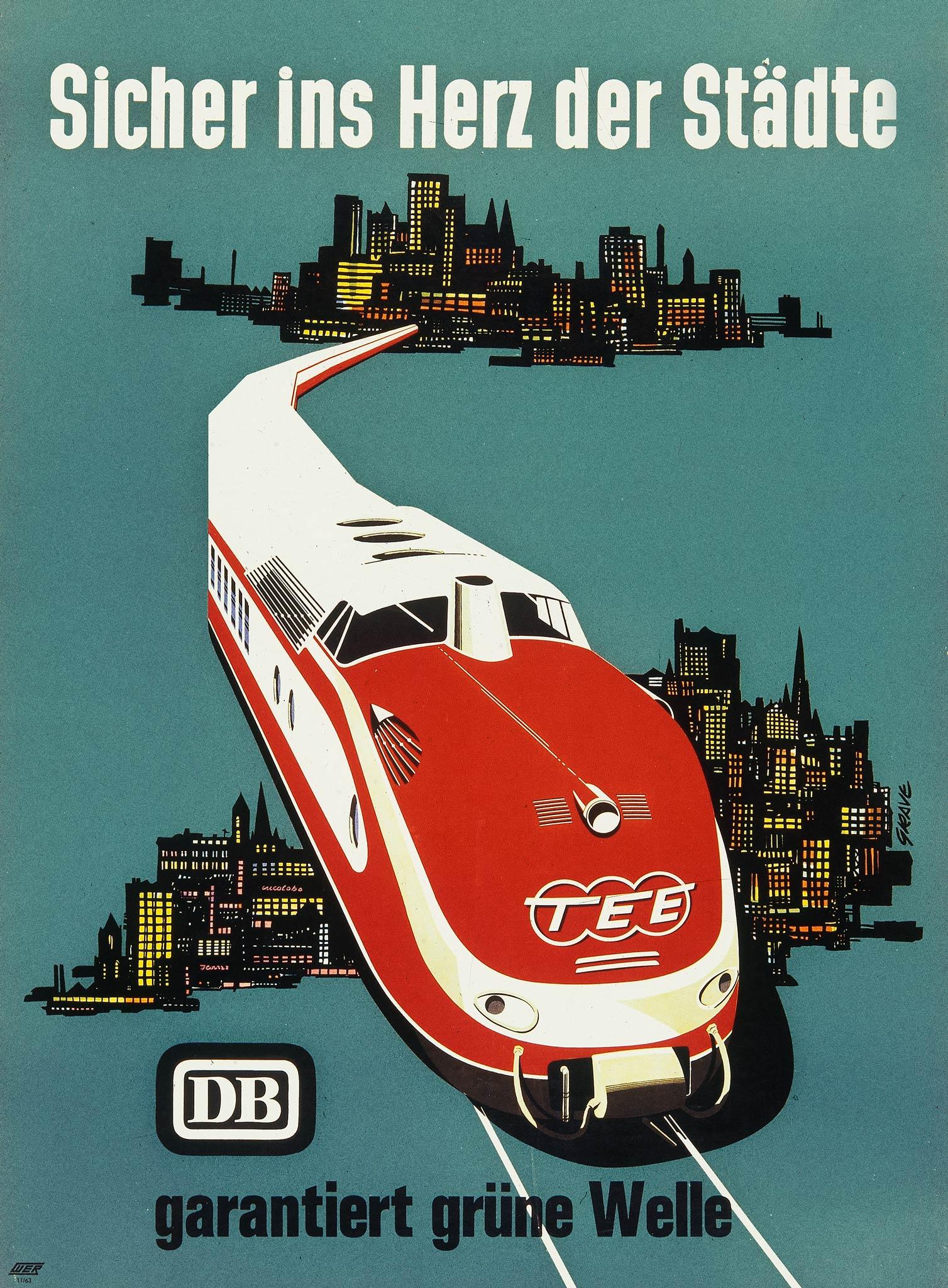 Deutsche Bahn Plakate
