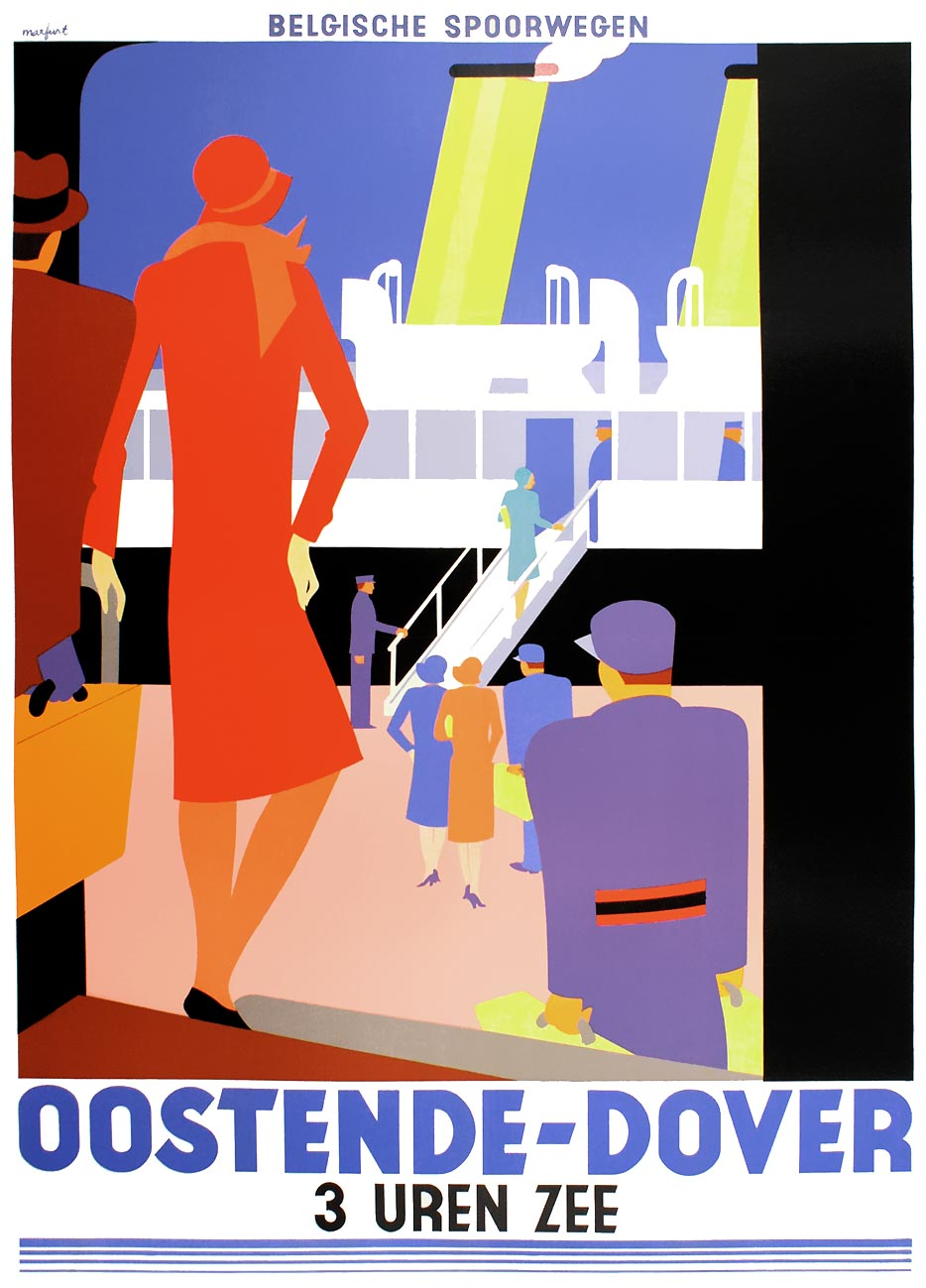 Railway Posters By Leo Marfurt And Tom Purvis Retours