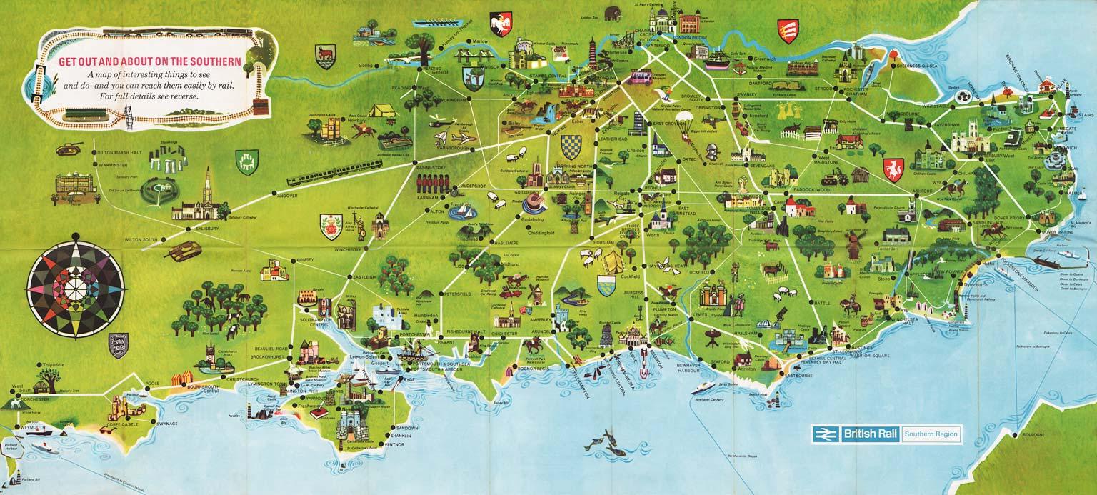 Pictorial railway maps telling stories | retours