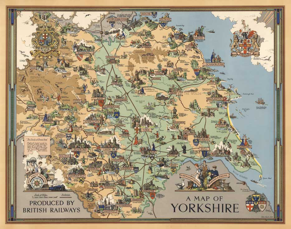 Pictorial railway maps telling stories | retours on