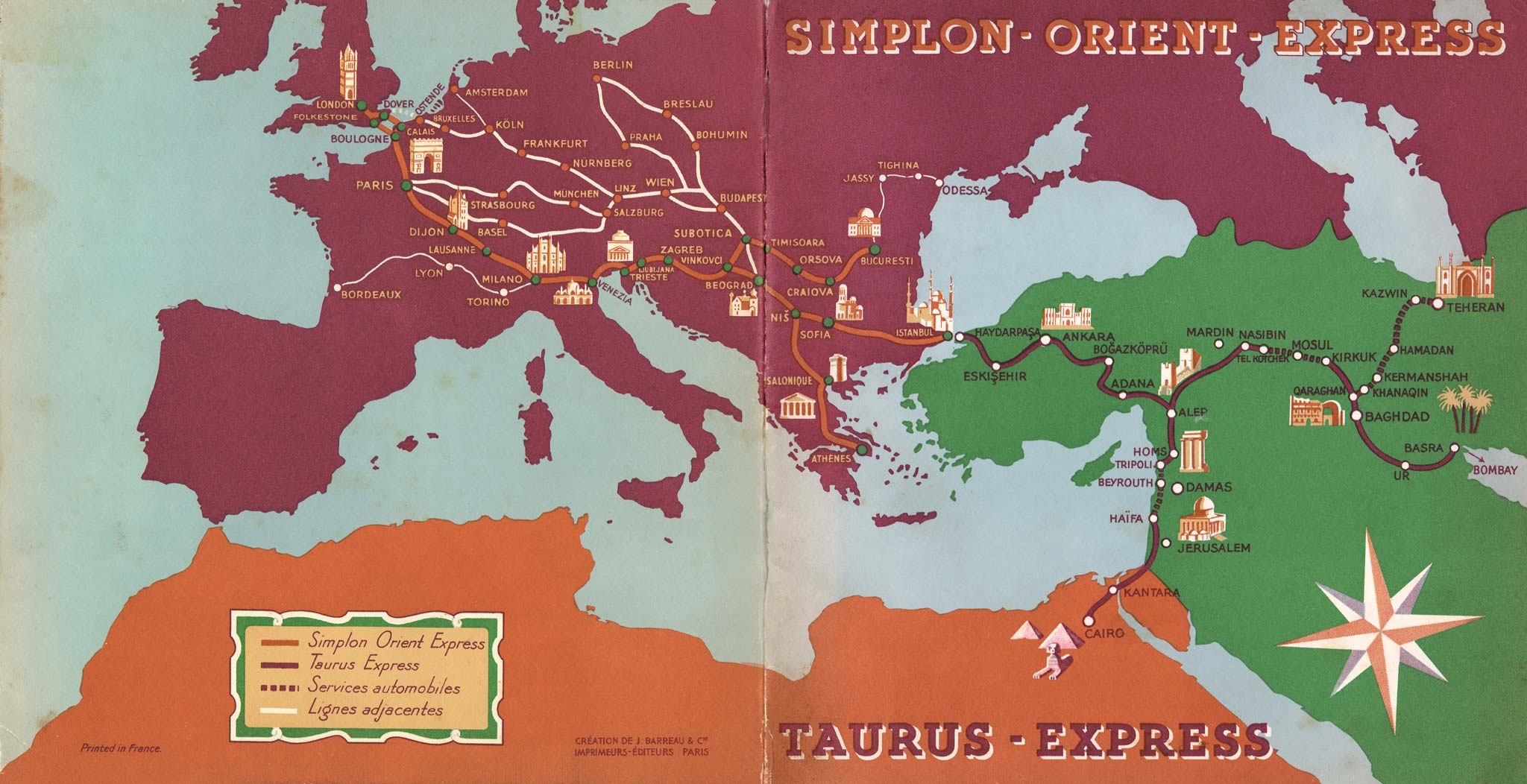 The Taurus Express To Iraq And Egypt Three Continent Train Retours
